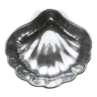 Cast Aluminum Shell Shaped Bowl