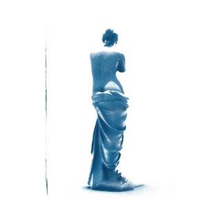 Venus De Milo Greek Sculpture Cyanotype Print