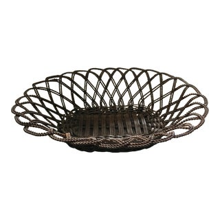 Antique French Wire Basket