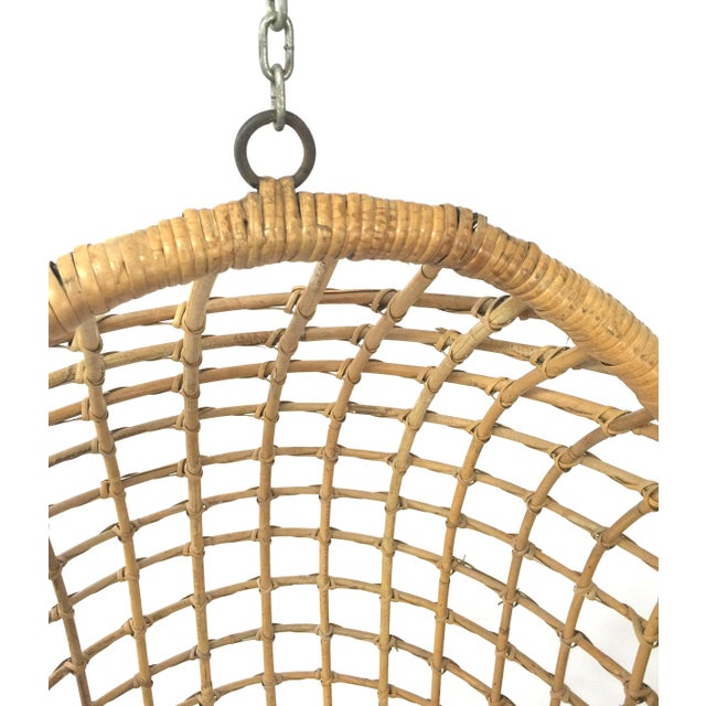 1960s Rohe Cane Hanging Chair - Image 5 of 5