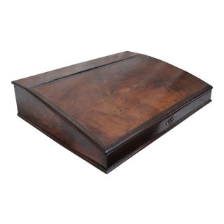 Antique Mahogany Writing Lap Desk