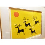 Image of Vintage Keith DeCarlo Signed & Framed Lithograph