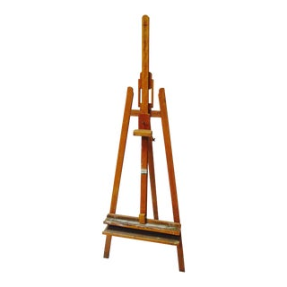 French Standing Wood Easel