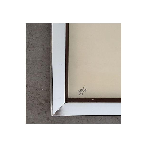 S. Green Mid-Century Modern Artist Proof Serigraph - Image 7 of 7