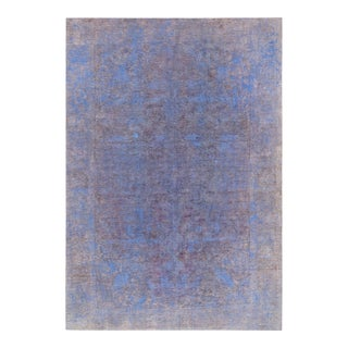 "Pasargad Vintage Overdyed Wool Area Rug - 6'3"" X 9'2"""