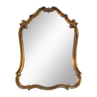 Gilded French Baroque Mirror