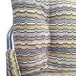 Image of Zermatt Tubular Chrome Sling-Back Settee