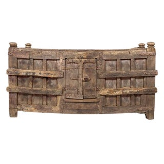 British Colonial Oversized Teak Chest