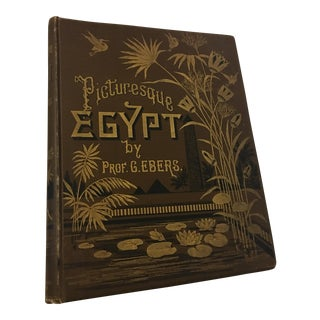 1898 Picturesque Egypt by George Evers