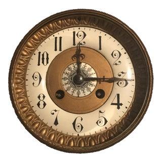 Antique Mantle Clock Face
