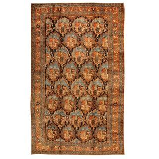 Antique Oversize 19th Century Persian Bidjar Carpet
