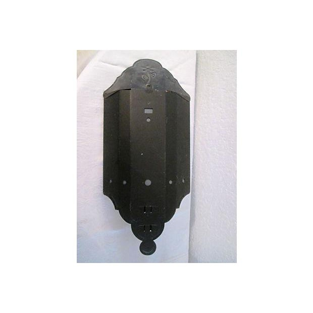 Black Mirrored Candle Wall Sconces - A Pair - Image 7 of 8