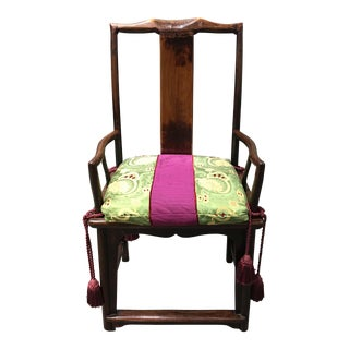 Asian Inspired Tansu Chair