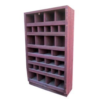 Compartment Cabinet Shabby Chic Industrial Seed