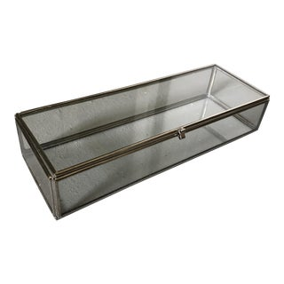 Contemporary Glass Display Box