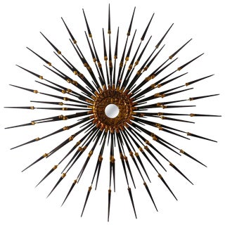 Del Williams Sunburst Wall Sculpture