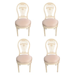 Maison Jansen Balloon Chairs - Set of 4