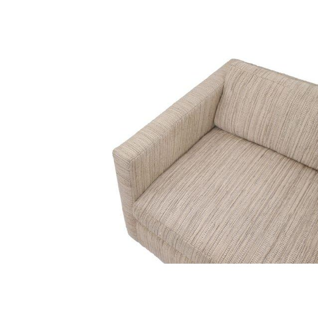 Knoll Long & Low Sofa w/ Original Upholstery - Image 5 of 10