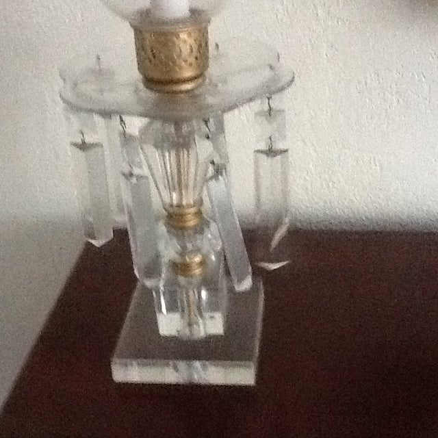 1960's Crystal Lamps - A Pair - Image 4 of 7