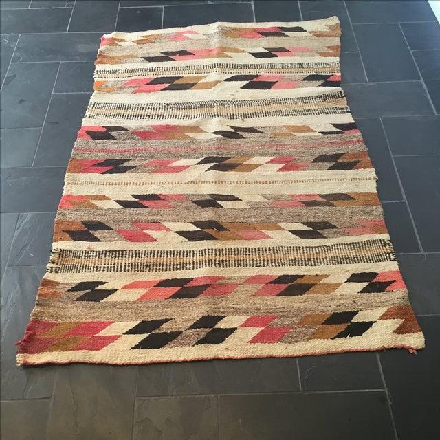 Vintage Native American Rug -2′6″ × 3′10″