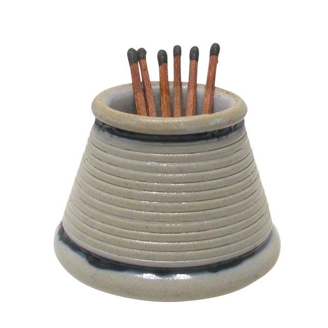 Vintage French Gray Ironstone Pyrogene / Match Striker - Image 1 of 5