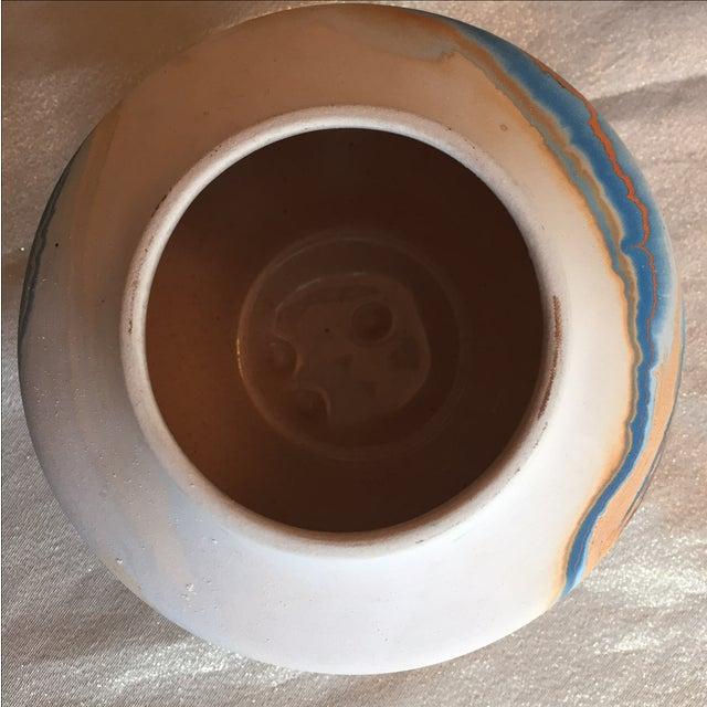 Nemadji Native American Marbelized Vase - Image 7 of 8