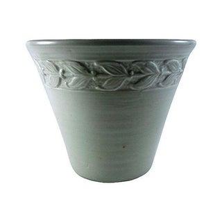 Mid Century Celadon Green Jardiniere Laurel Design