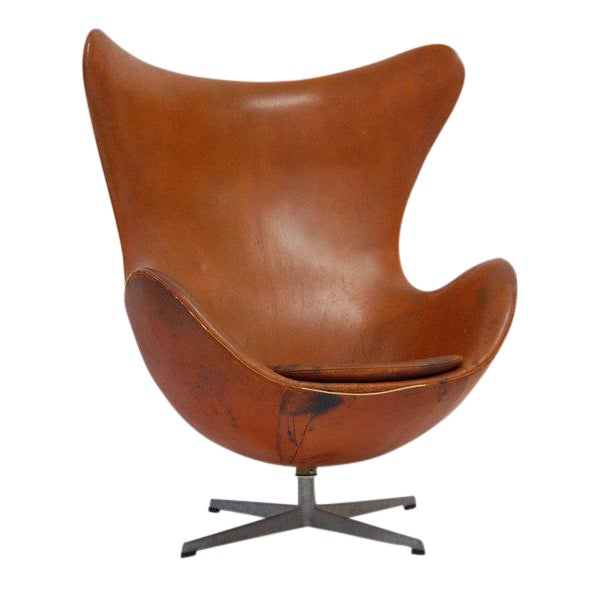Original arne jacobsen for fritz hansen egg chair chairish for Egg chair original