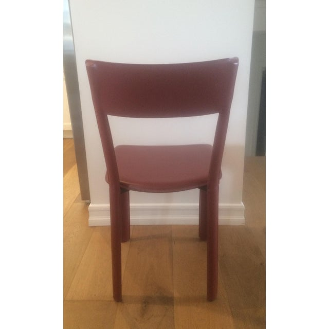 Image of Frag Incorporated Leather Chairs - Set of 6