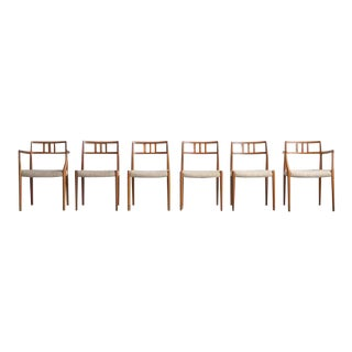 Niels Otto Møller Dining Chairs - Set of 6