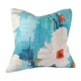 Square Custom Flower Pillow