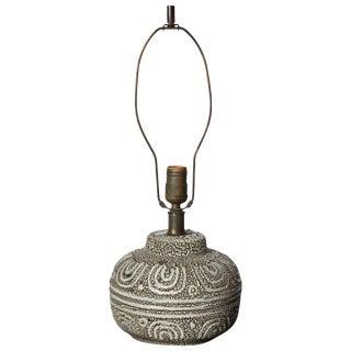 Design Technics Textured Ceramic Table Lamp