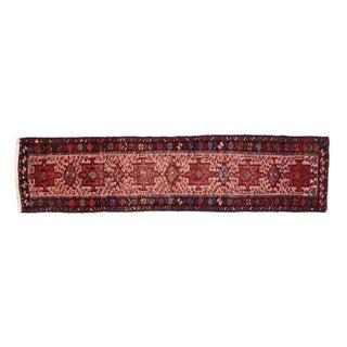 Vintage Persian Heriz Runner - 2'4 X 9'9