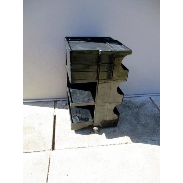 Joe Colombo Mid-Century Italian Black Boby Cart - Image 5 of 11