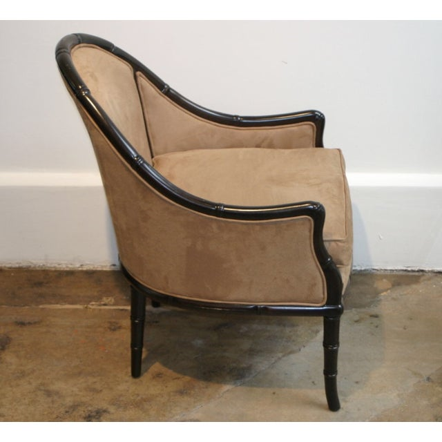 Faux Bamboo Midcentury Chairs - A Pair - Image 2 of 3