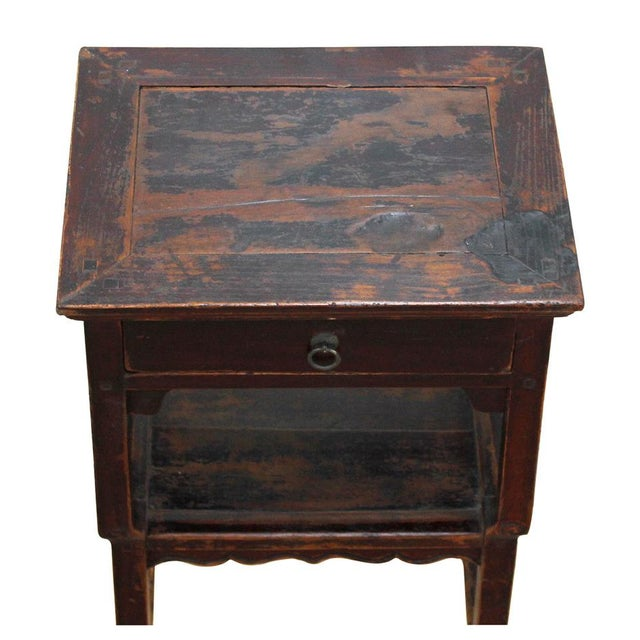 Antique Ming Style Side Table - Image 3 of 3