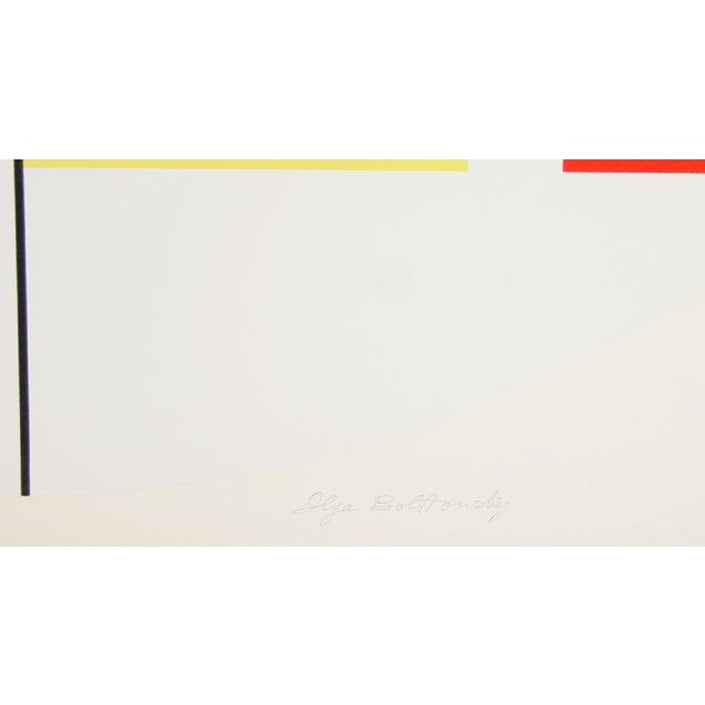 "Ilya Bolotowsky, ""Series 6,"" Silkscreen - Image 2 of 2"