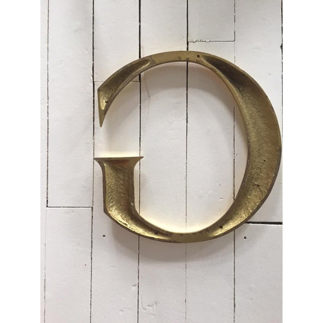 """Brass Letters Spelling """"GUCCI"""" - Image 5 of 5"""