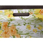 """Image of Vintage D. Porthault 22""""Yellow Floral Tray"""