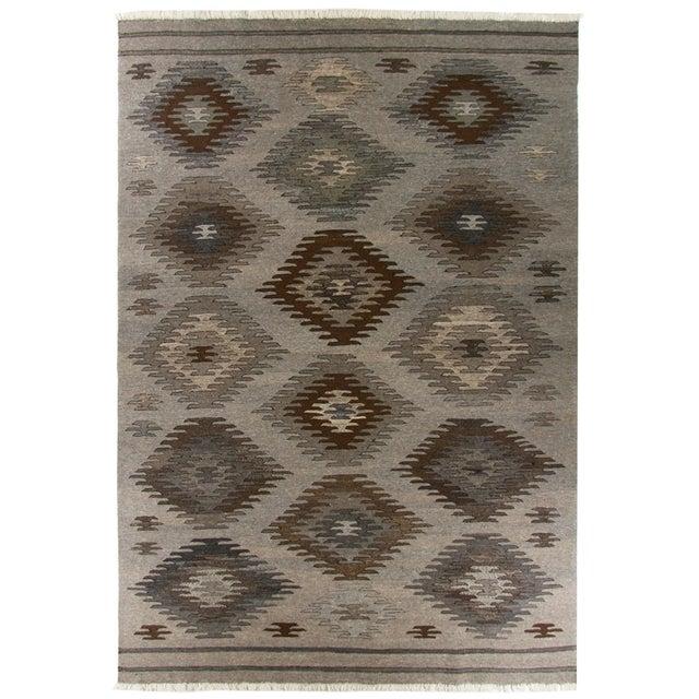 Rug & Relic Kilim Flatweave Natural, No Dye - Image 1 of 3