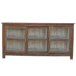 British Colonial Style Display Cabinet