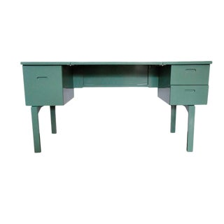 1970s Green Military Campaign Nurse Folding Field Desk