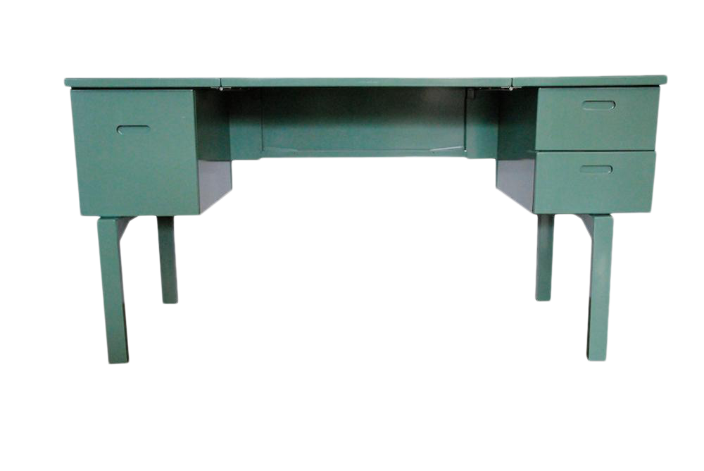 1970s Green Military Campaign Nurse Folding Field Desk