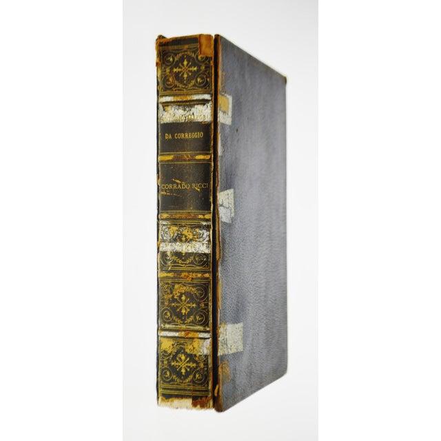 """1896 Antique """"Da Correggio Antonio Allegri Da Correggio His Life, His Friends, And His Time"""" Book - Image 2 of 10"""
