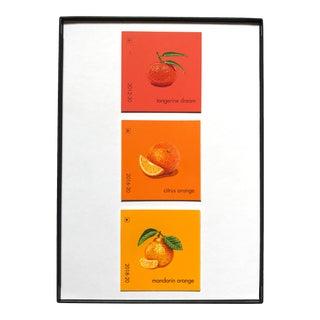 """Orange Trio"" Acrylic Painting"