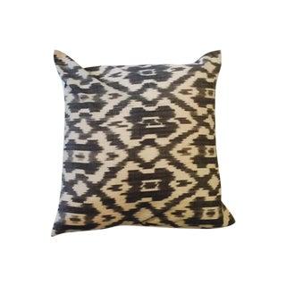 Charcoal Ikat Pillow Case