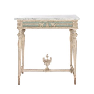 EARLY 19TH CENTURY SWEDISH EMPIRE CONSOLE