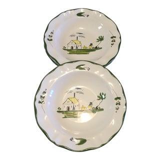 Varages Rim Soup Bowls - Set of 3