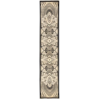 "Shalimar, Hand Knotted Runner Rug - 2' 7"" x 13' 3"""
