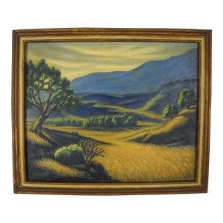 California Valley Landscape by Al Streeter